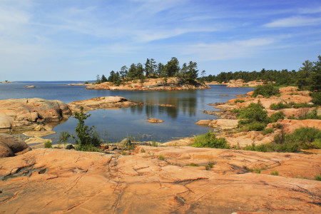 Landschaft Ost Kanada