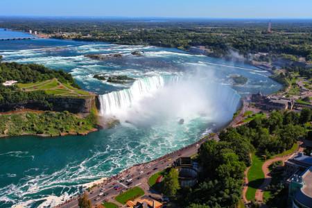 Niagara Fälle Ost Kanada