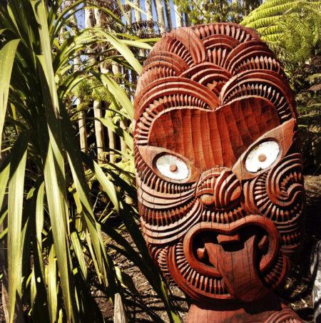 Maori Maske Nordinsel