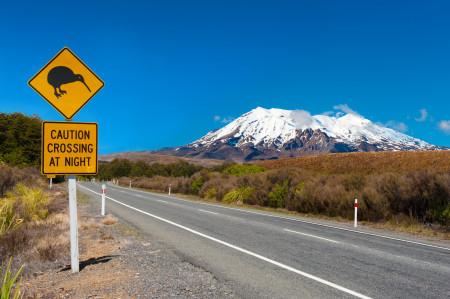 Mount Ruapehu Tongariro Nationalpark Nordinsel