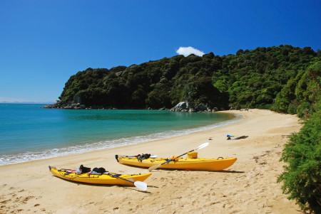 Kajaks Abel Tasman Nationalpark Südinsel