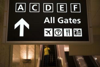 Gates am Flughafen
