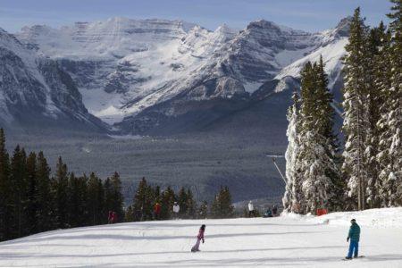 Snowboarding in Kanada