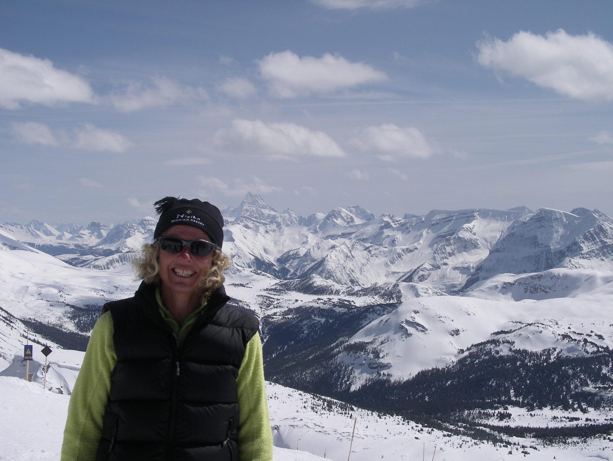 Suzanne unsere Schweizer Reiseleiterin in Kanada