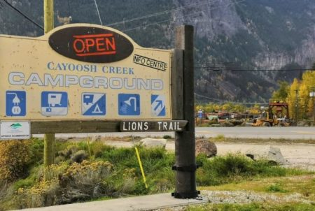 Cayoosh Creek Campground