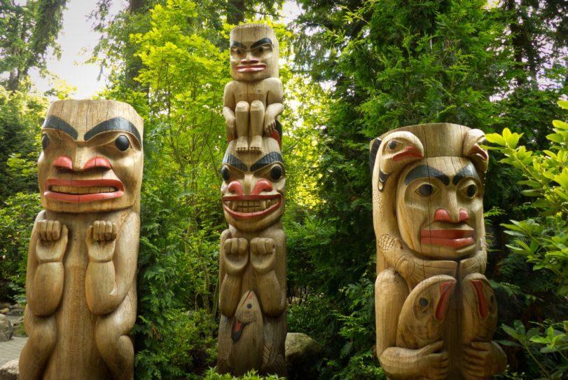 Kanada - Indianer - Totem