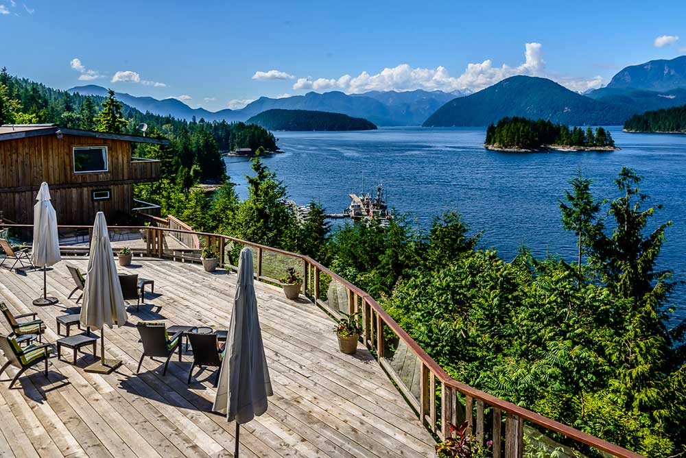 Kanada - West Coast Wilderness Lodge