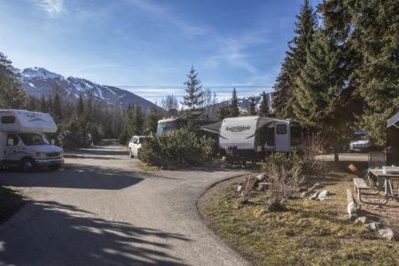 Kanada - Whistler - Camper