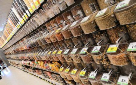 Riesige Auswahl im Supermarket