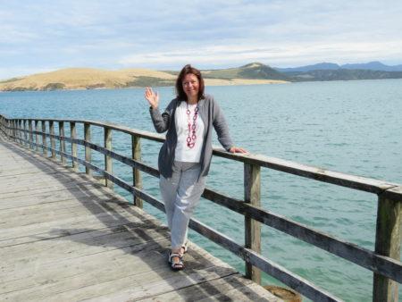 Beatrix Cometti - endlich in Neuseeland