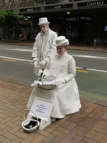 Pantomimen in Wellington