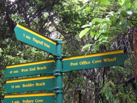 Wegweiser Stewart Island