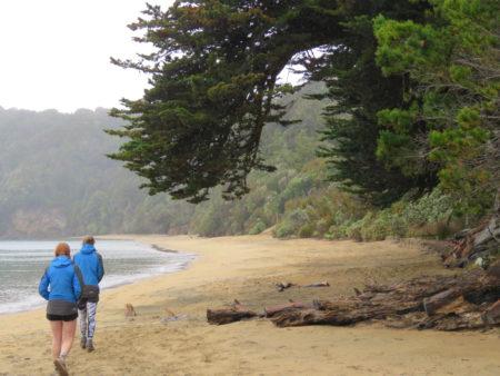 Strandwanderung Stewart Island