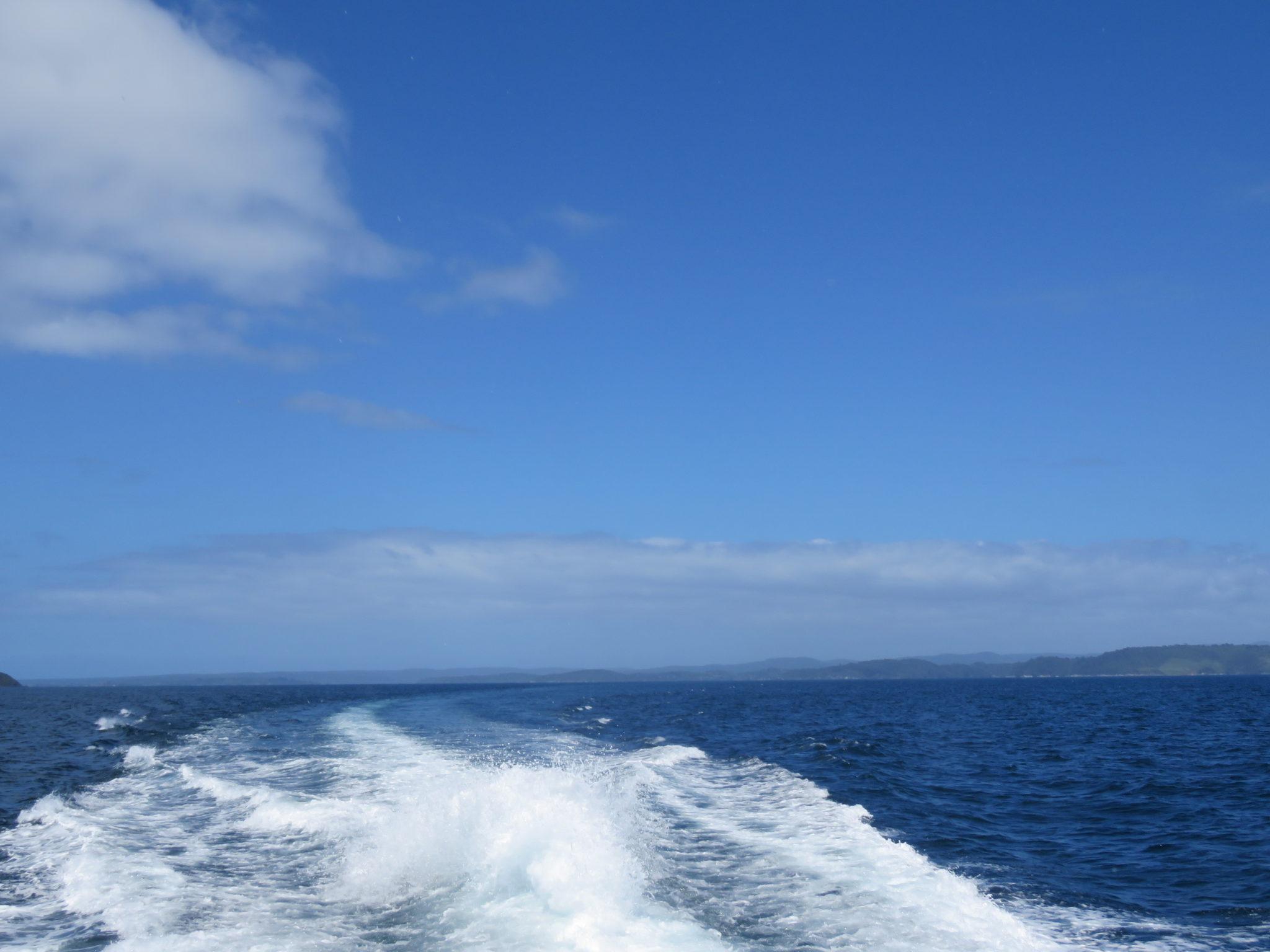 ruhige See Stewart Island