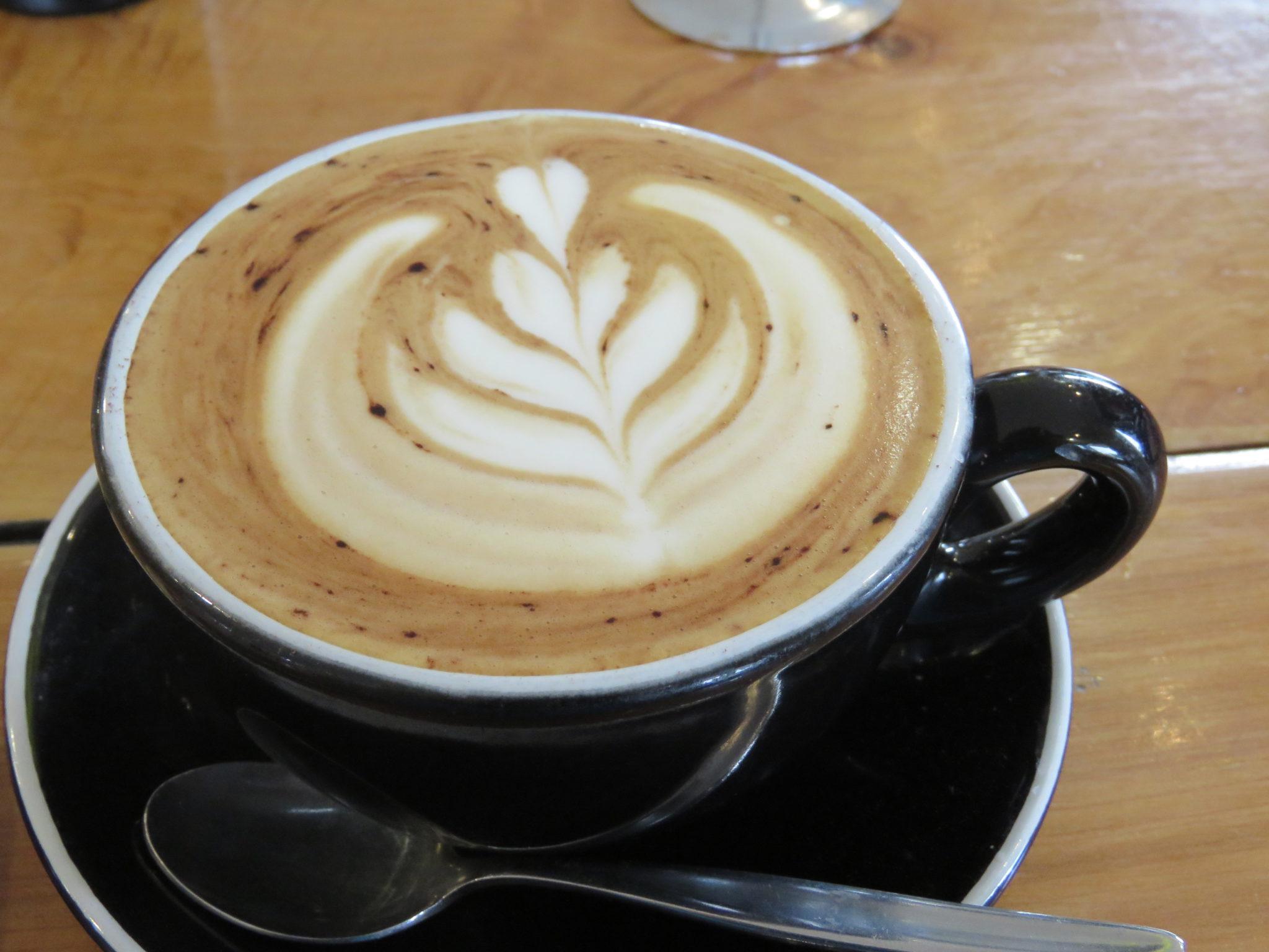 Soja-Milch Cappuccino