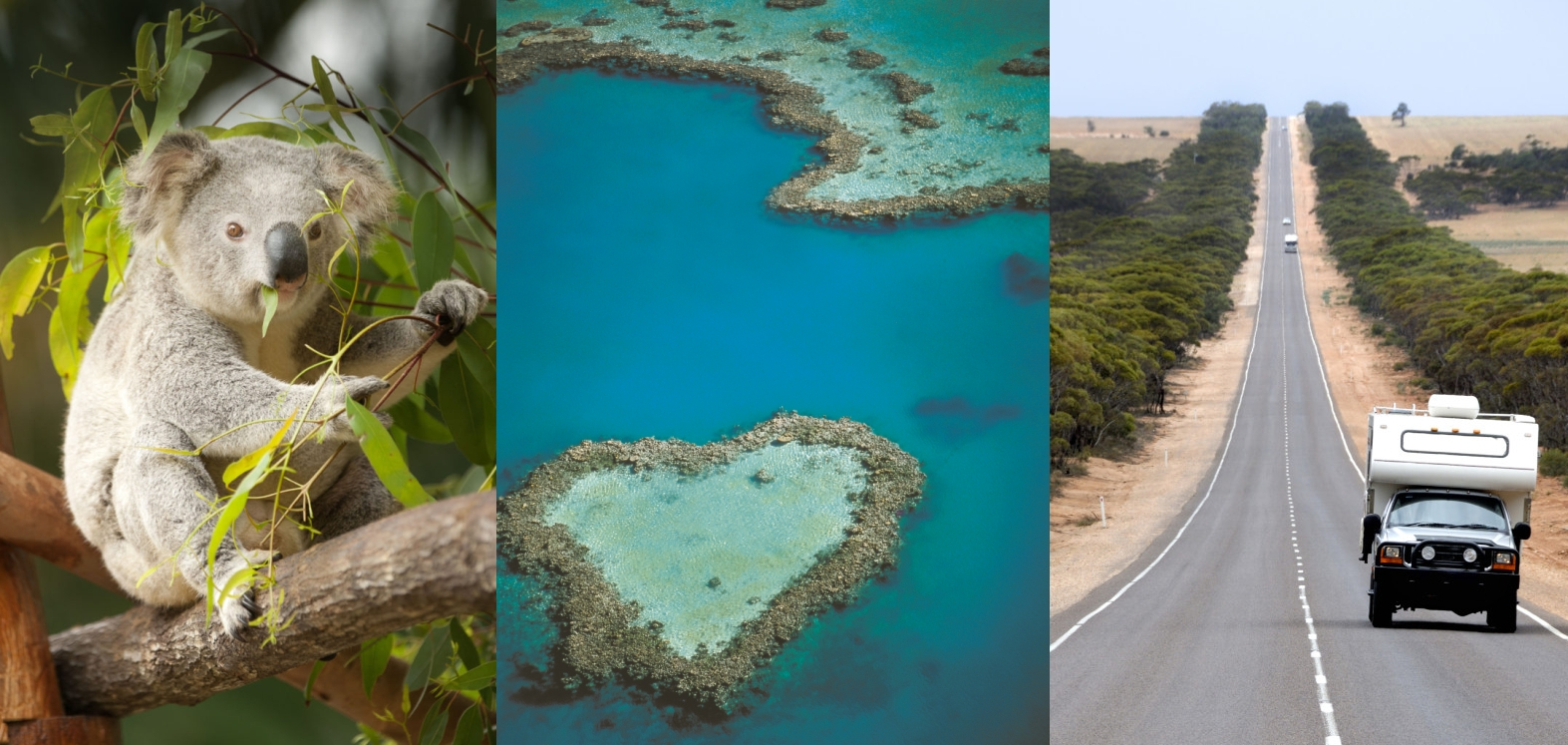 Australien Collage