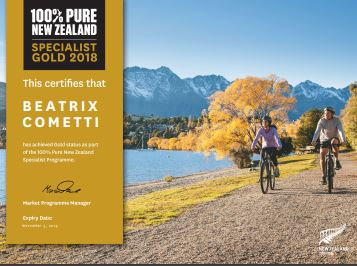 gold certificate NZ