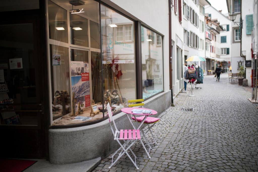 Eingang Reisebüro Rapperswil