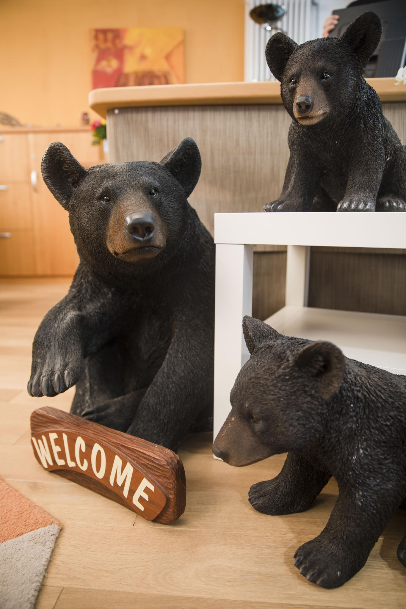 Bären Eingang Reisebüro
