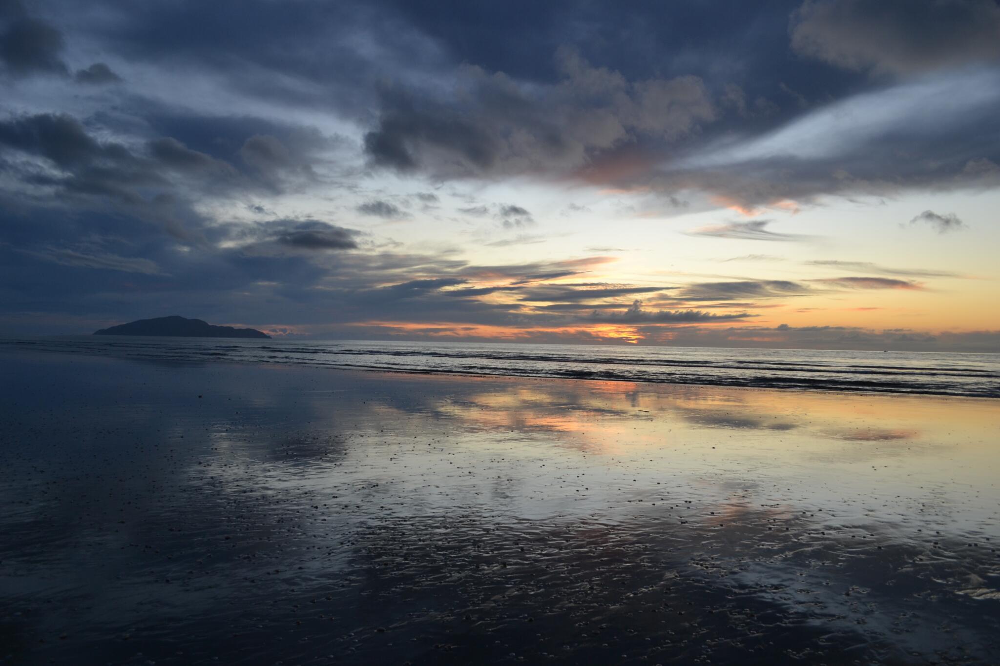 Abendstimmung Neuseeland