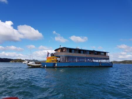 Hausboot in der Bay of Island