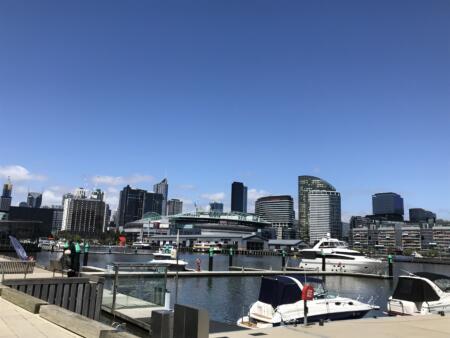 Strahan Hafen