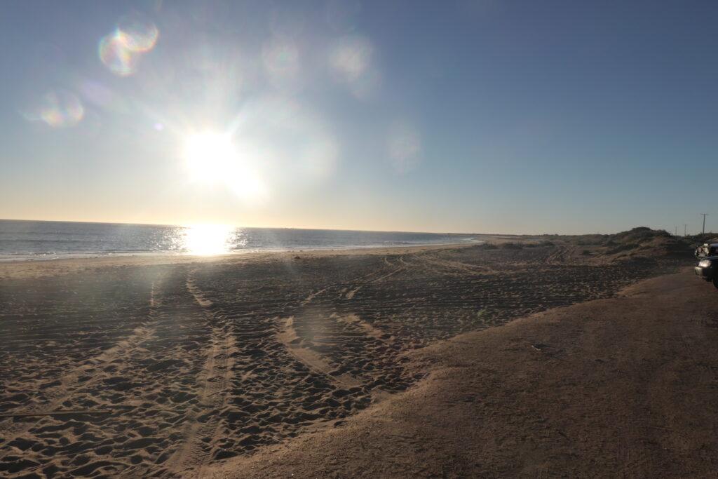 Abendstimmung Canarvon Strand