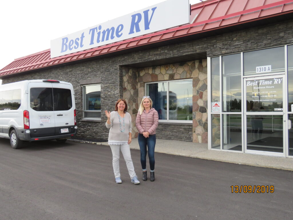 Motorhome-Station Best Time RV, Calgary