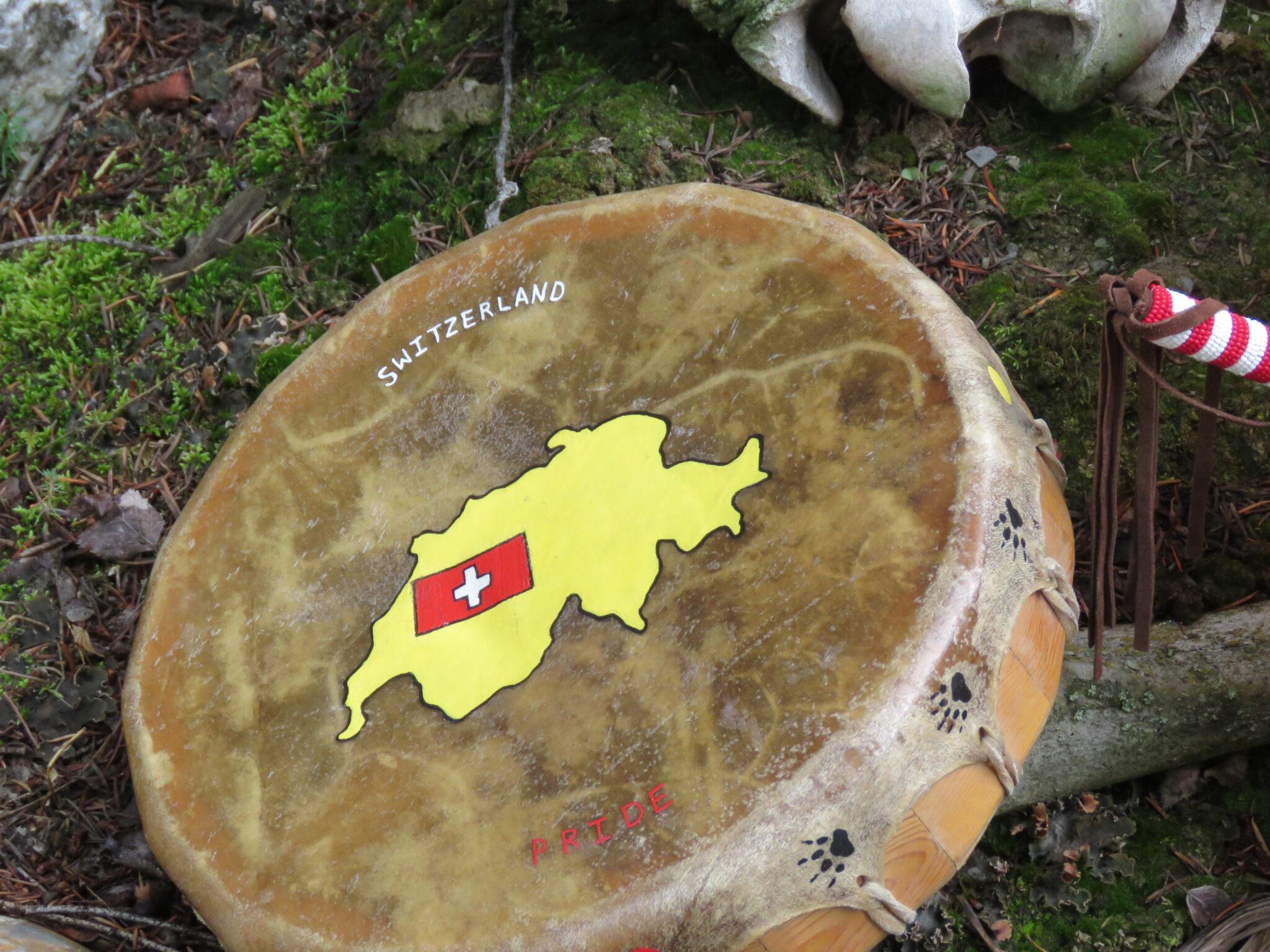 Native Trommel für Schwitzhütte Kanada
