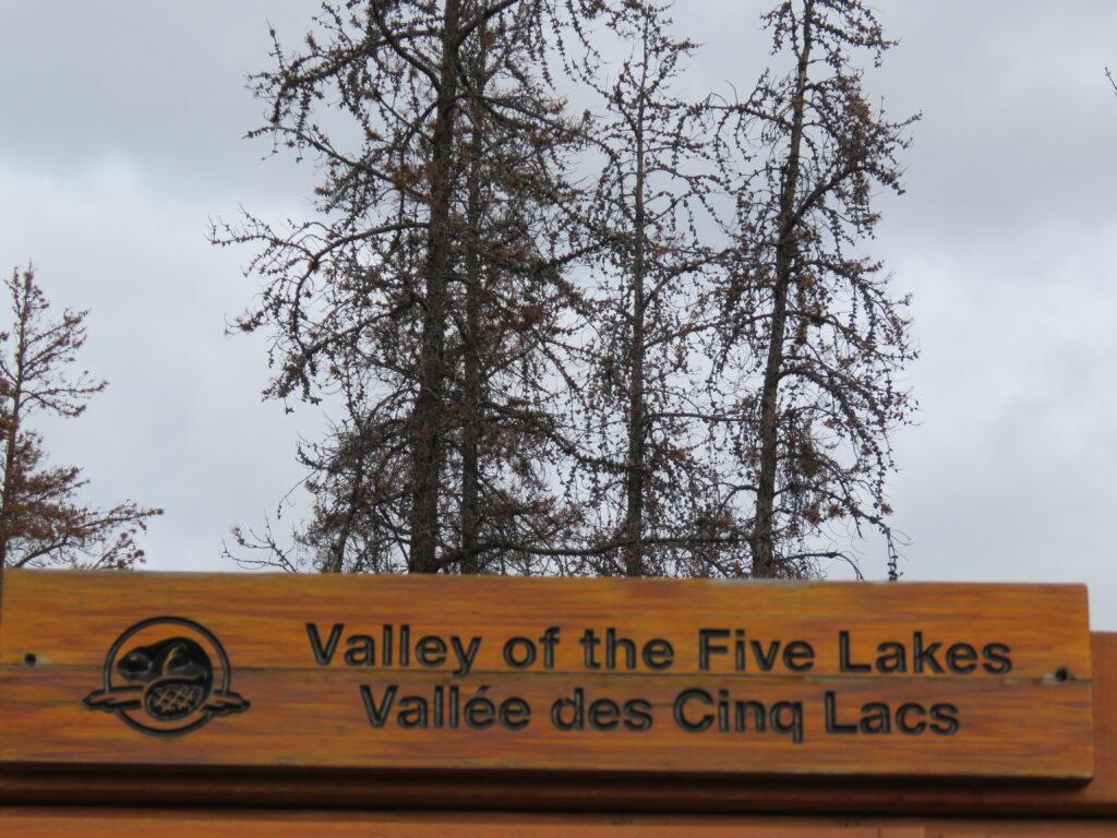 """Valley of the five LakesJasper - Wanderung durch das """"Tal der fünf Seen"""""""