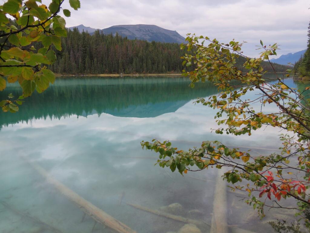 Jasper - glasklarer See im Valley of the Five Lakes